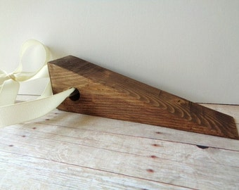 Wood Doorstop Wooden Door Wedge Rustic Cottage Farmhouse Home Decor