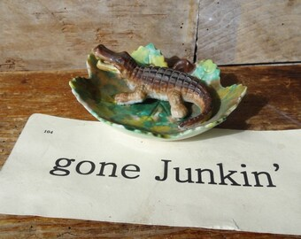 Vintage Crocodile Collectible Made in the Japan