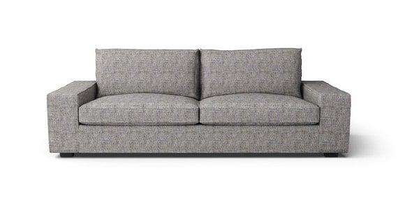Ikea kivik 3 posti divano slipcover solo in tessuto grigio - Divano kivik ikea opinioni ...