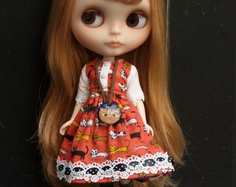 La-Princesa Cutie Cat Outfit for Blythe (No.Blythe-313)