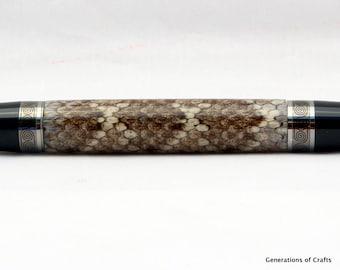 Handmade Pen - Snake Skin Pen ** BP 003 **