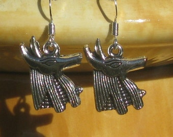 Anubis Egyptian Earrings