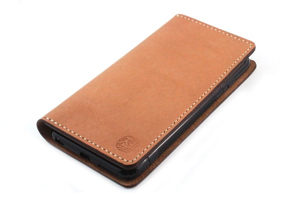 Baseball glove leather wallet for android by zenokleather on etsy