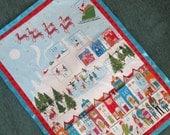 Modern Advent Calendar, Santa Calendar, Christmas Decoration, Wallhanging, Holiday Decor