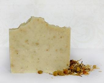 Chamomile Soap, Cold process soap, Vegan soap