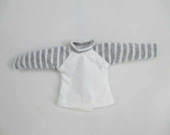Handmade outfit for Blythe doll long sleeveTee shirt T-16
