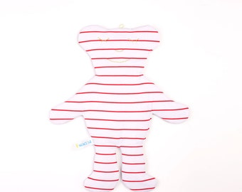 Teddy Bear Toy - Soft Bear - Stuffed Animal - Stuffed Bear Toy - Cotton Bear - Baby Shower Gift - Lovey Toy - Teddy Bear