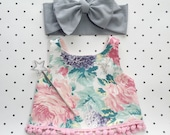 Pastel Floral Sleeveless Top