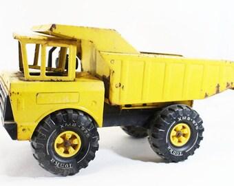 Big Yellow Tonka Dump Truck