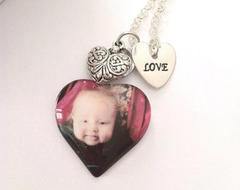 CUSTOM PHOTO NECKLACE/ Personalized pendant w/ Your Photo/Send me your photo