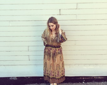 Gypsy  Empire Maxi Dress