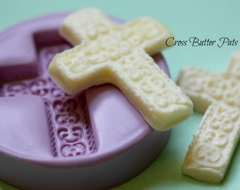 Easter Cross Butter Mold Silicone Cross Mold Resurrection Chocolate Molds Polymer Clay Cross Mold