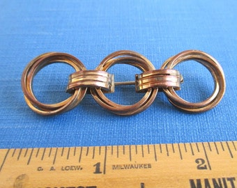1/10 12KT GF Pin / Brooch - Antique, Long