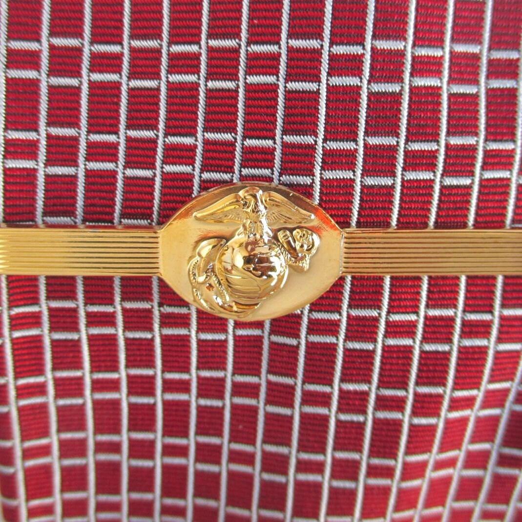 USMC Tie Clip / Tie Clasp US Marine Corps Eagle Globe & by ...