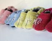 Dandelion Baby Shoes - PDF PATTERN