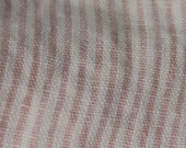 Cotton Candy Linen Stripe - OOAK Re.Fashion - A Good Day OVERALLs