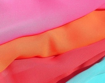 Simply Chiffon - Bright and Vibrant Chiffon Fabric