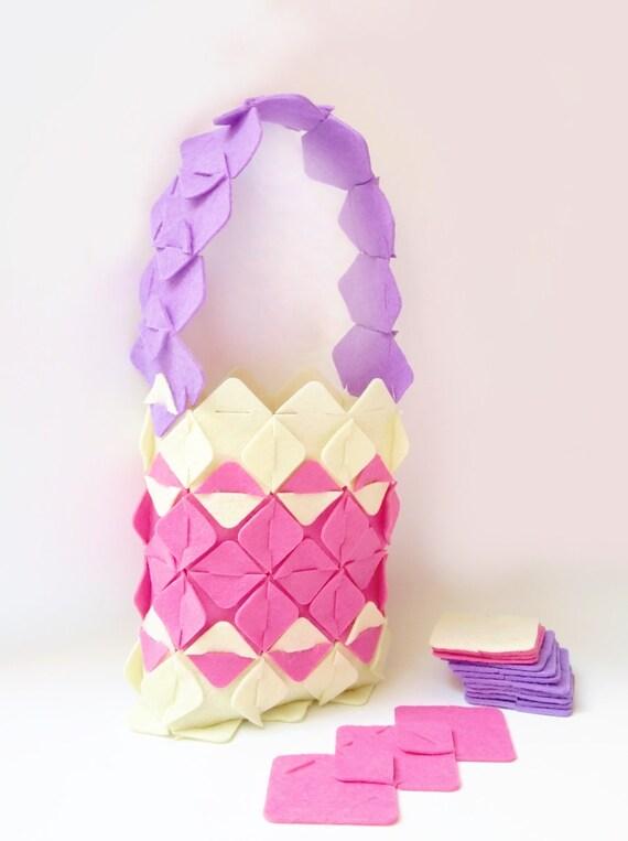 Fashion designer Fun bag Diy kit Put&Pull