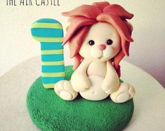 Custom Animal Birthday Cake Topper Handmade