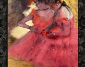 ACEO Size Digital Cards Ballet Paintings by Degas Vintage Art Greeting Cards Tags Paper Crafts Printables ACEO 37