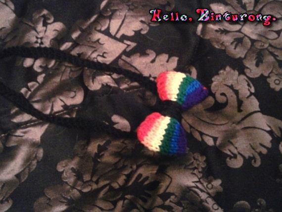 Rainbow Hairbow Headband