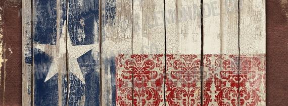 Instant Download Diy Facebook Timeline Cover Image Texas Flag