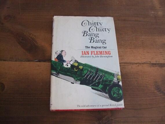 Chitty Chitty Bang Bang by Ian Fleming Vintage by jessamyjay