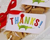Animal Favor Tags by Loralee Lewis