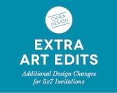 Additional Design Changes for Ciera Design Shop