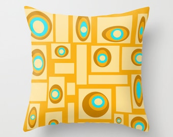 Orange Throw Pillow Etsy