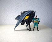 Batman. The Animated Series, Aero Bat vehicle complete with Nightsphere Batman Action Figure, 1994