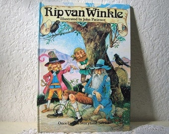 Children's Book: Rip van Winkle, Retold and Illustrated by John Patience, 1990