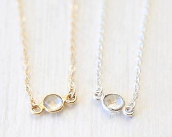 Custom Gemstone Sparkles // Choose Your Gemstone // Bridesmaid Jewelry