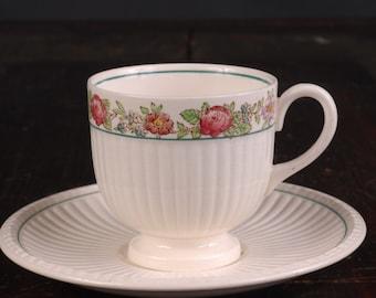 Wedgwood Belmar Demitasse Set (cup and saucer)
