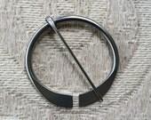 Hand Forged Penannular Outlander Brooch Shawl Pin Viking Clasp