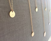 Gold Layering Necklace/Personalized Initial Necklace/ Monogram Necklace/ Name necklace