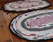 Vintage Crocheted Rag Rug Reproduction