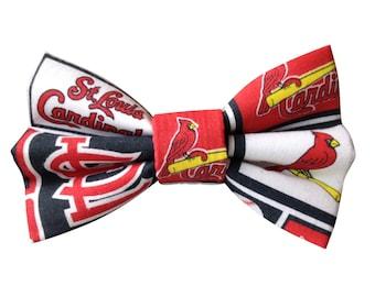St. Louis Cardinals Dog + Cat Bowtie