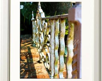 Ironwork Photograph 8x10 Print
