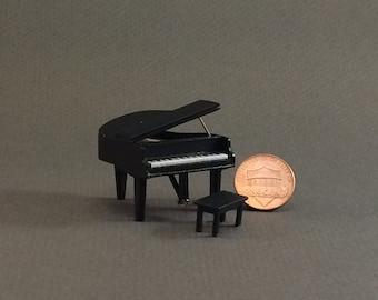 Quarter Inch Scale Furniture - Baby Grand Piano