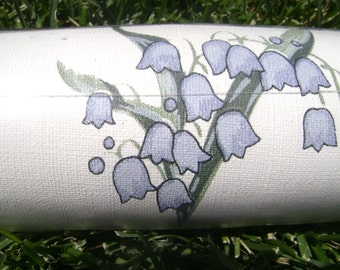 Diane Von Furstenberg unused vintage wallpaper - Virginia Bluebells