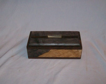 Buckeye trimmed with Walnut 4x8 Box Keepsake box  Handmade