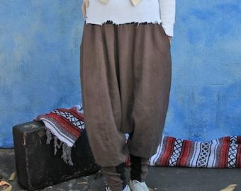 The Frack You Collection; Custom Hand Made Linen Harem Pants