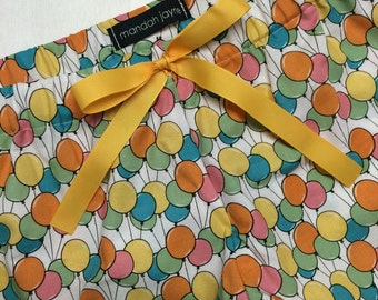Balloon - Womens Mini Sleep Shorts