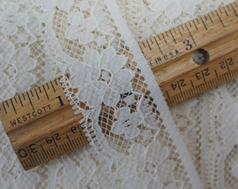 Off-White Cluny Lace 15-1/2 Yards
