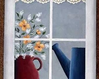 Lacey Kitchen Window