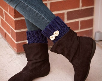 Boot Cuffs / boot / crochet cuff / fall boot cuffs / spring boot cuffs/  Choose your color