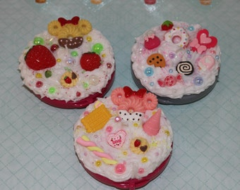 Kawaii Sweets Decoden Compact Mirror