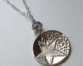 Shooting Star Sterling Silver Necklace