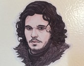 Jon Snow Fridge Magnet Game of Thrones